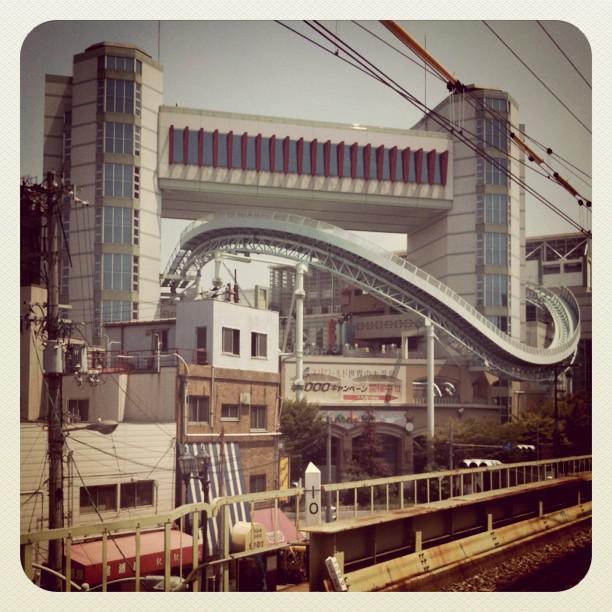Montagne Russe sympa à l station Shin-Imamiya