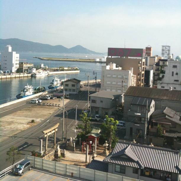 Dernier jour de vacances… Avec réveil à Takamatsu avant d'enchainer avec Naoshima !