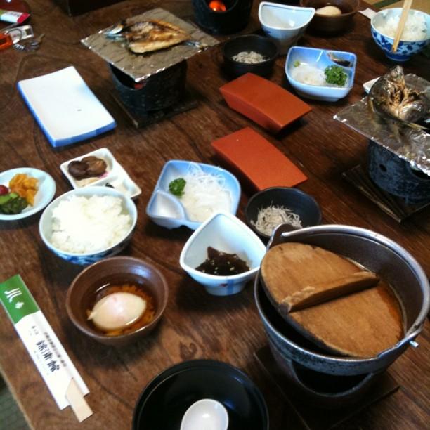 P'tit déj' japonais comme je les aimes :-)