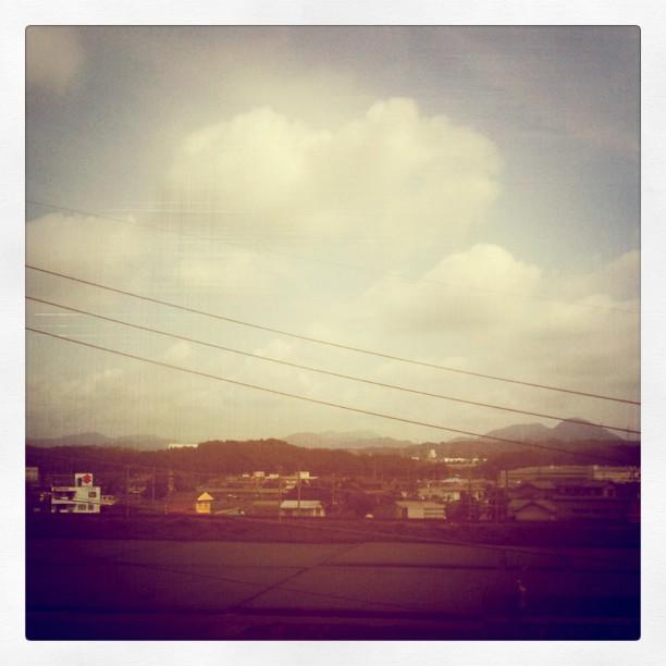 Ciel bleu avec quelques nuages… Pourvu que ça reste comme ça !