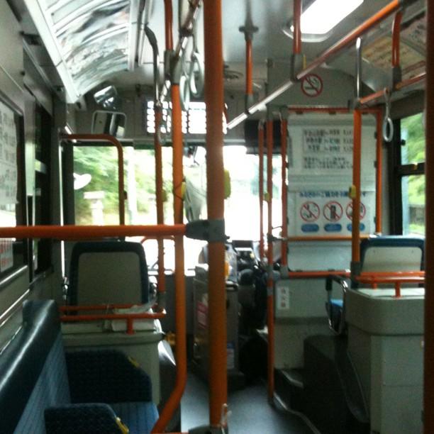 Dans le bus en direction d'Ise Naiku… l'autre sanctuaire…