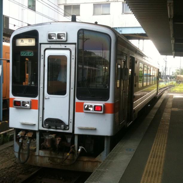 Il est 6h30 et je prends le petit train local pour Futaminoura…