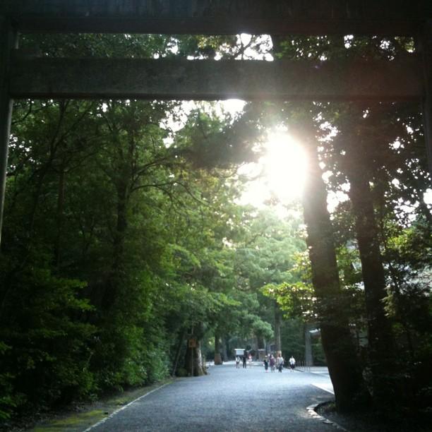 Ise Geku : sanctuaire shintô… Rien d'exceptionnel comparé à d'autres…