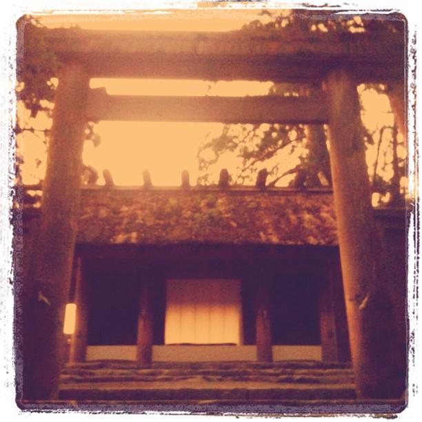 Ise Naiku était plus sympa… Même si il est en travaux, vu quand temps normal on ne peut de toute façon ni y entrer, ni faire de photos…