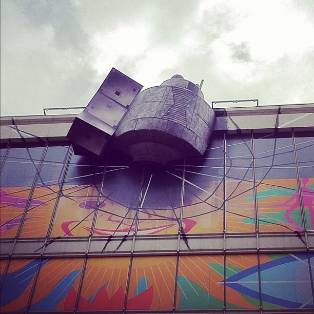 Photo du satellite qui s'est écrasé sur un building d'Akihabara !