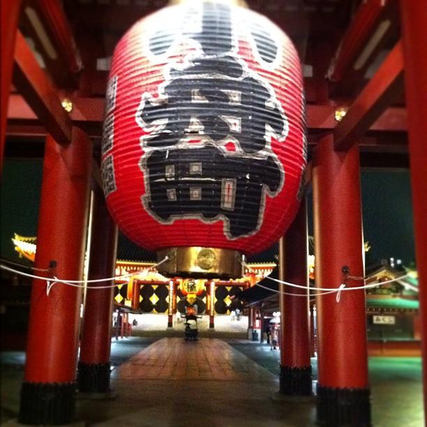 Le meilleur moment pour visiter le Sensoji à Asakusa, c'est le soir !