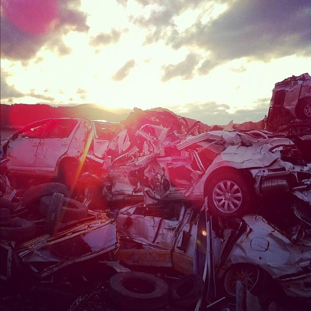 Le soleil se couche sur la côte du Tohoku, demain on rencontre ceux qui se battent pour reconstruire leur vie !