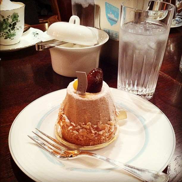 Le meilleur Montblanc que j'ai jamais manger ! Café Motekiro à Yokohama