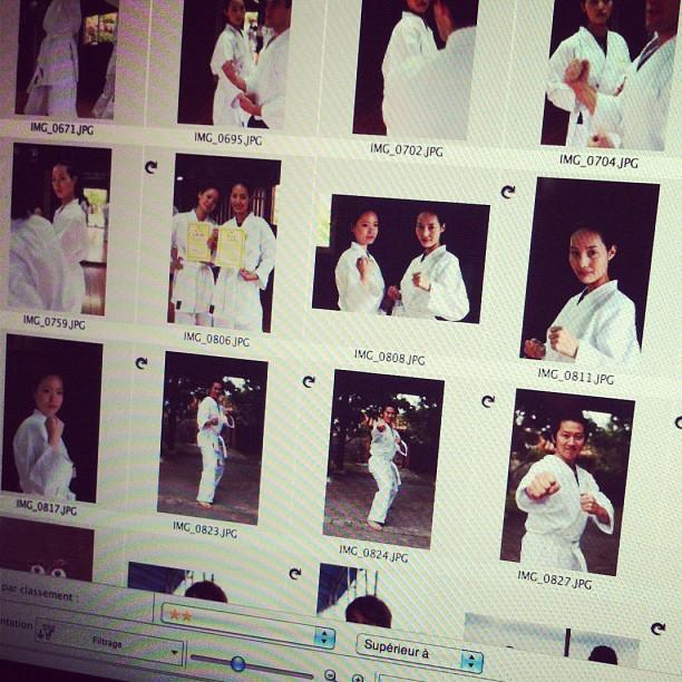 Je crois qu'avec mes photos, tout le monde voudra venir étudier le karaté à Okinawa ;-)