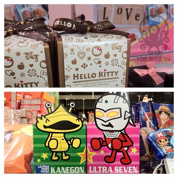 Vous êtes plutôt Helli Kitty ou Ultraman en chocolats?