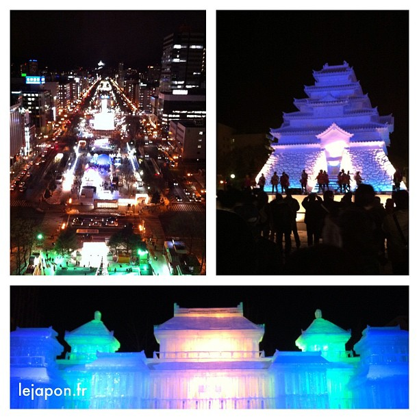 Bonne nuit du Sapporo Snow Festival !