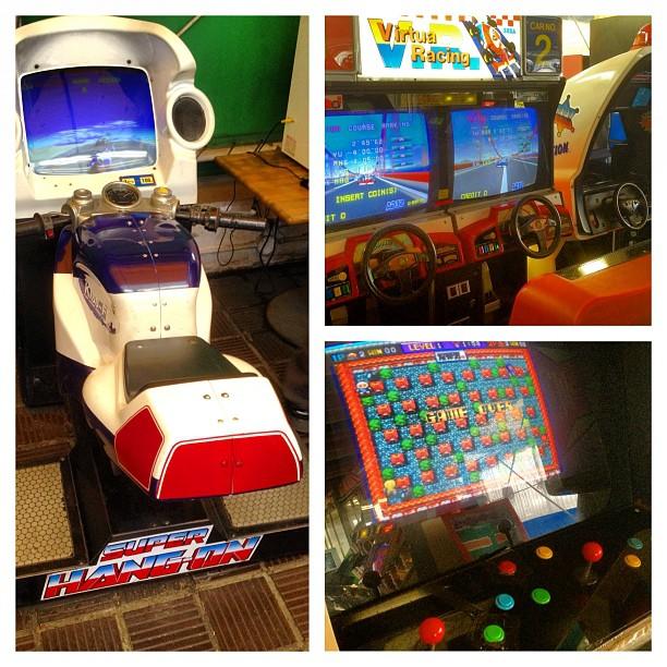 Envie de faire une partie sur de vieilles bornes de Super Hang-on, Virtua Racing ou Bomberman ? J'ai un endroit qui vous plaira !