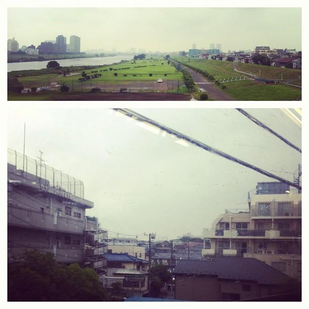 Typhon en approche sur Tokyo… Temps de rentrer chez soit !