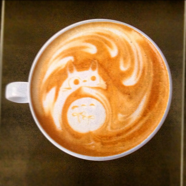 Un cappuccino Totoro ? J'ai une adresse pour vous à Osaka