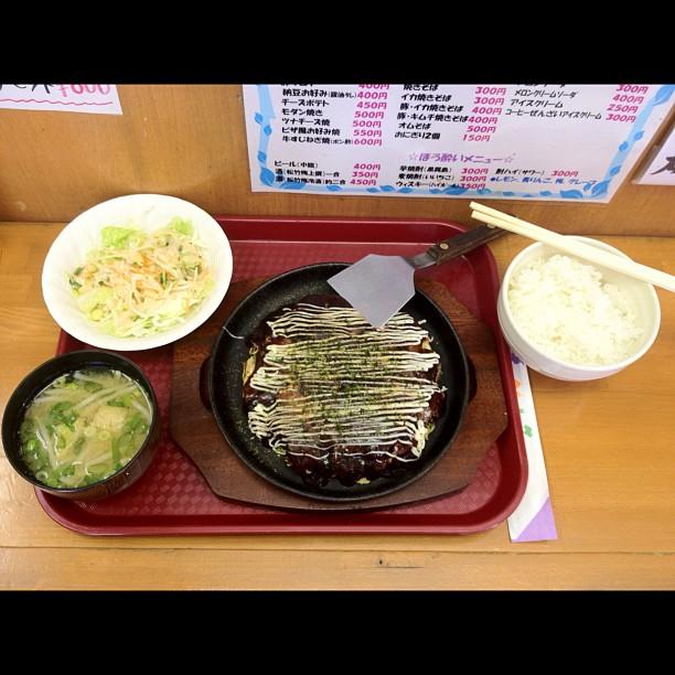 Popote de grand-mère : Okonomiyaki Set à 500¥