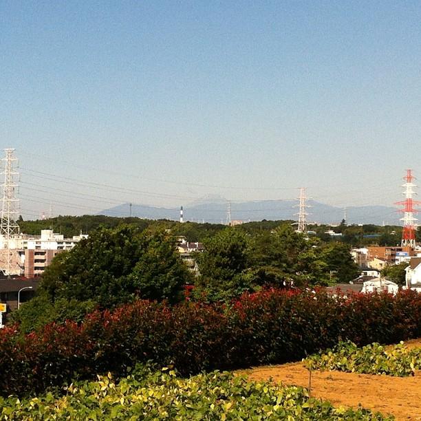 #fujireport : c'est rare de voir aussi bien le Fuji San l'été ! Profitez-en bien ;)