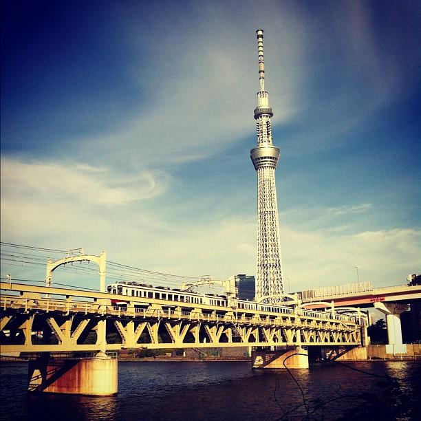 Let's go Sumidagawa !