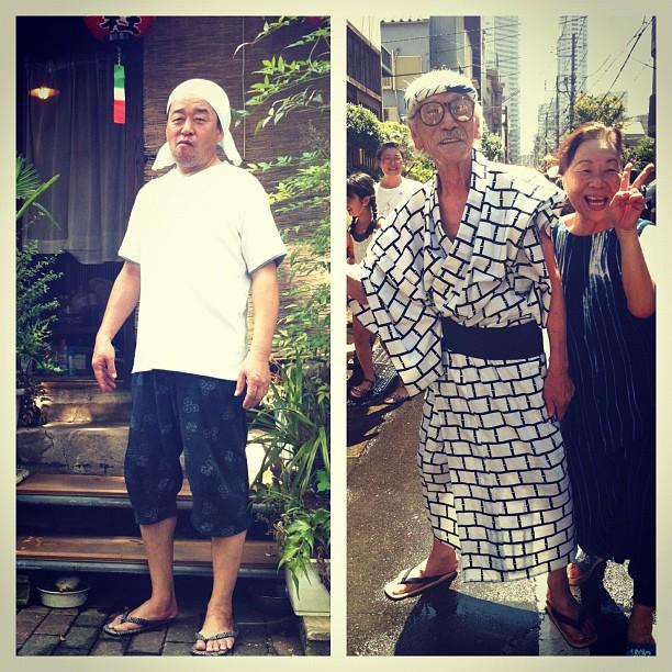 Merci à Teru San et Takao Chan qui me font aimer le Japon !
