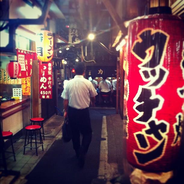 Otsukare sama ! Le repos du guerrier à Shinjuku ; )
