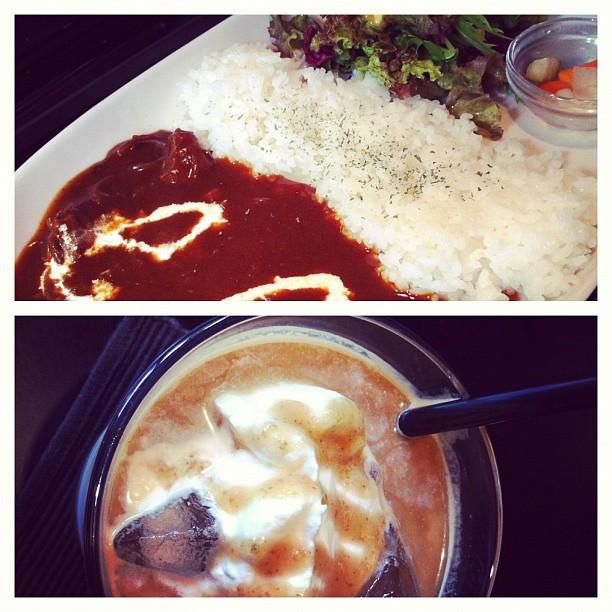 1000Yens le repas de midi avec p'tit café Macchiat Nuts ! Chère la nourriture à Tokyo ?