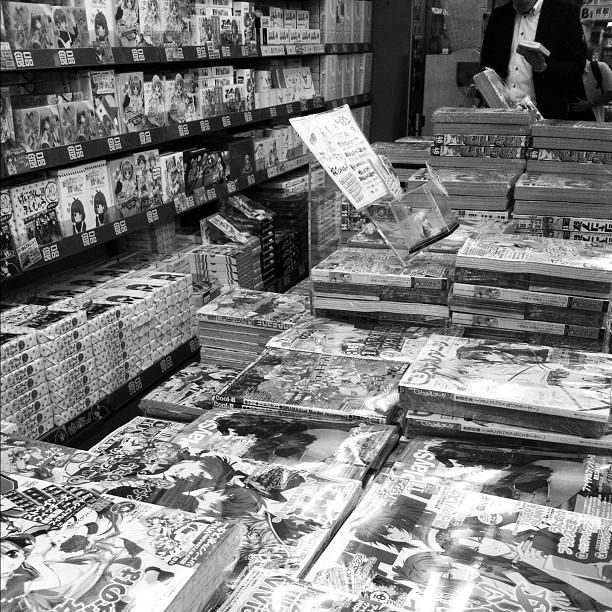 Envie de lire des mangas après avoir trainé dans les librairies d'Akihabara avec des passionnés… Ça doit faire 10 ans que j'en ai pas lu…