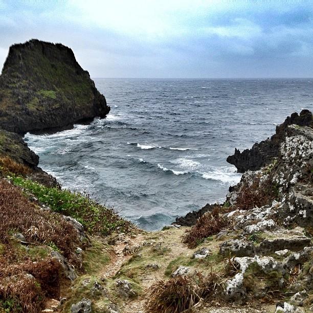 Mer agitée à Okinawa
