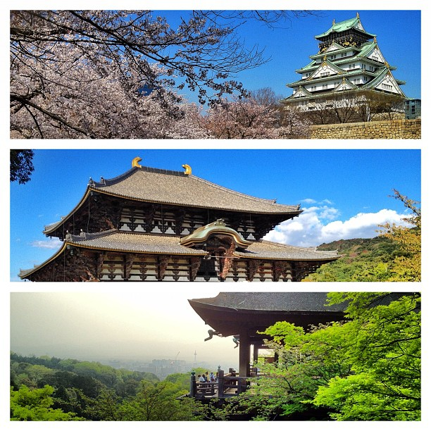 Osaka, Nara, Kyoto : le triangle d'or du Japon