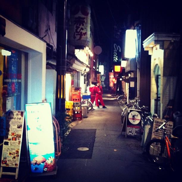 1h30 un mardi soir et Kyoto ne dort toujours pas !