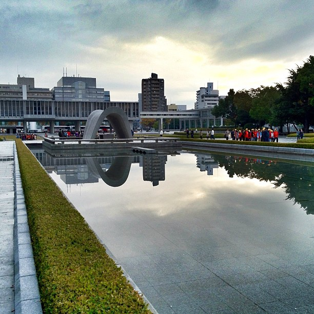 Reflet sur le Mémorial
