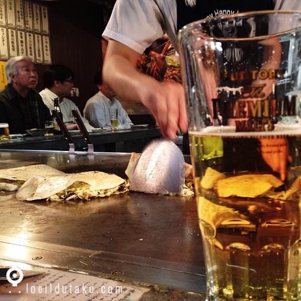 On va bientôt déguster un bon okonomiyaki qui déchire avec @horizonsdujapon