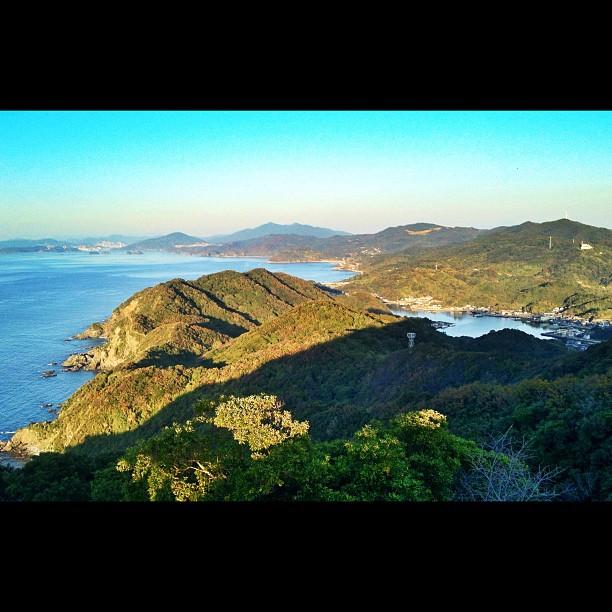 La mer, le ciel, la baie, les îles …