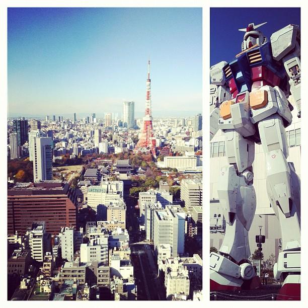 Ça fait du bien de retrouver Tokyo sous ce ciel bleu !