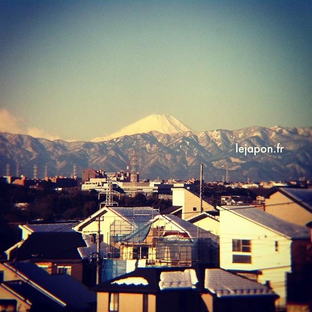 #fujireport : envie soudaine d'aller tester les pistes de ski du Fuji !