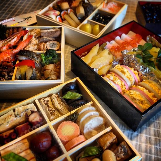 Osechi Ryori, le repas du nouvel an