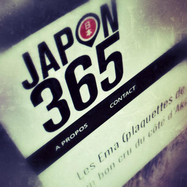 Bienvenue sur Japon 365!