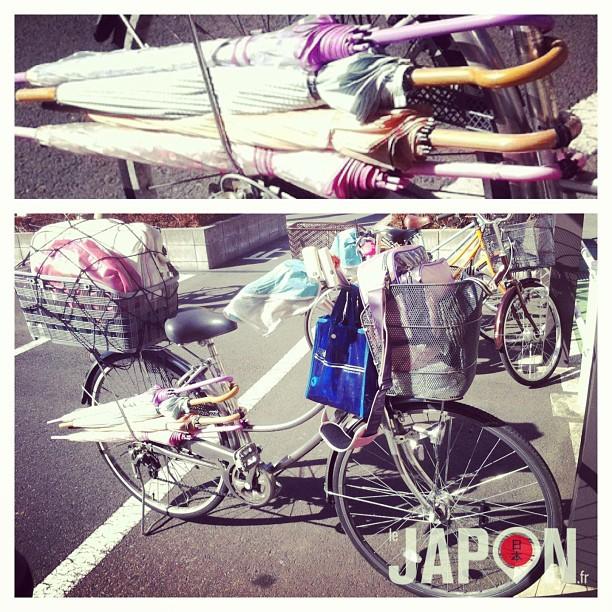 En France on a des voitures suréquipées… Au Japon on a des vélos !