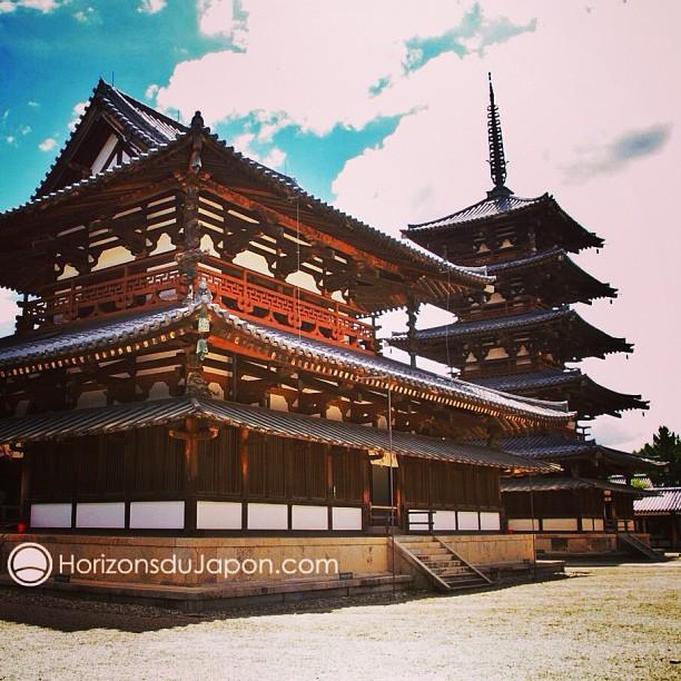 Le temple horyuji pr s de nara les plus vieux b timents - Les poeles a bois les plus performants ...