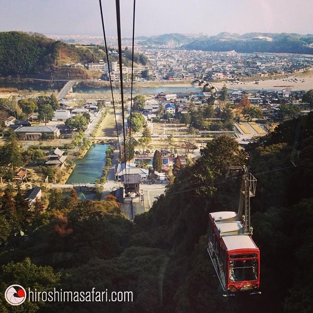 Un petit tour à Iwakuni et son fameux pont le Kintaikyo un endroit parfait pour une balade en famille.