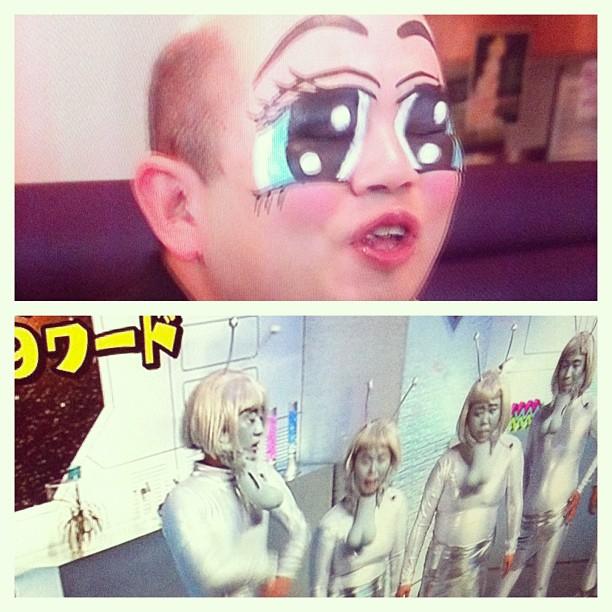 Comment ça, c'est bizarre la TV japonaise ?