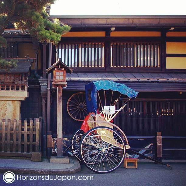 Un Rickshaw à Takayama