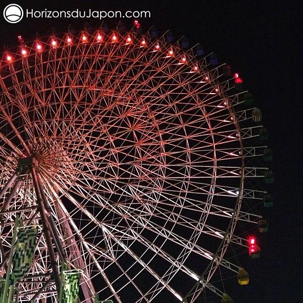 La grande roue du Tempozan à Osaka