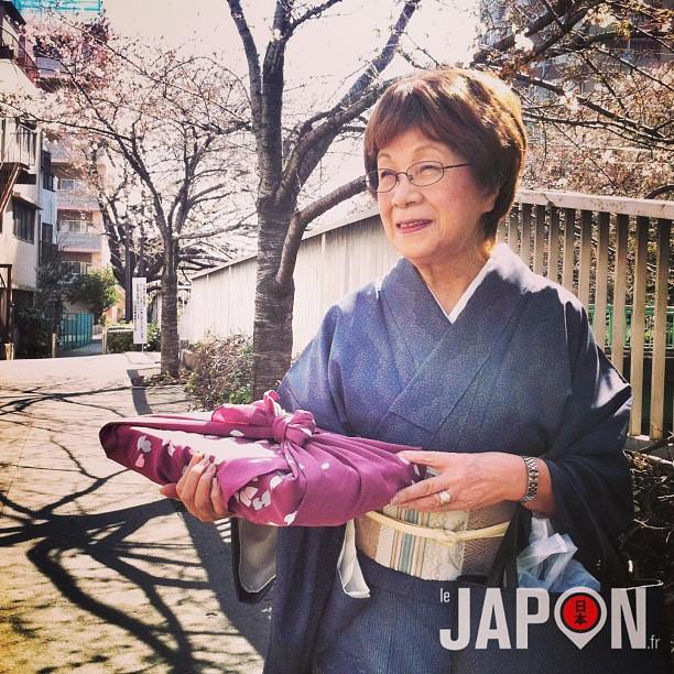 Rencontre aujourd'hui avec Inoue San sous les Sakura le long d'Edogawa.