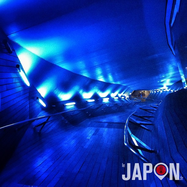 Si vous faites un Yokohama Safari, vous pourrez visiter un vaisseau spatial !