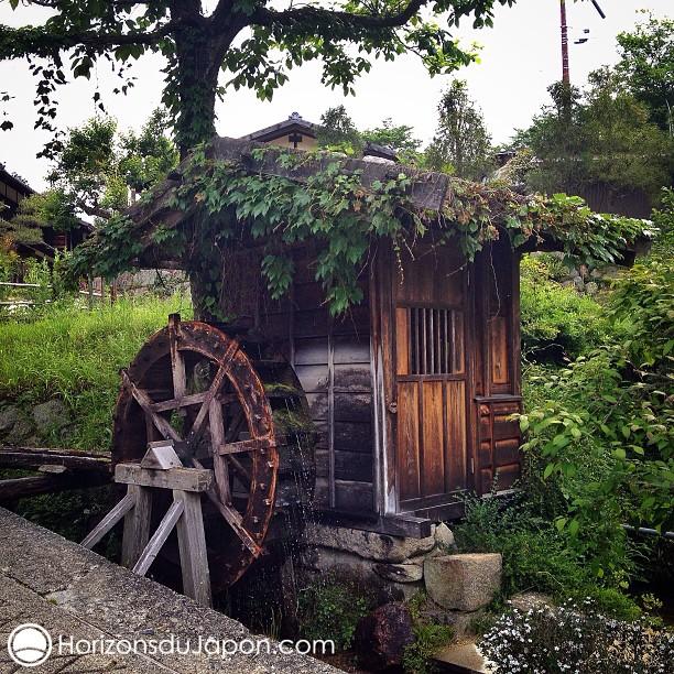 Un moulin en campagne