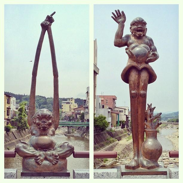 Longcoude et Longmollet vous saluent depuis Takayama