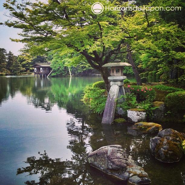 Balade printanière au jardin Kenroku-en de Kanazawa
