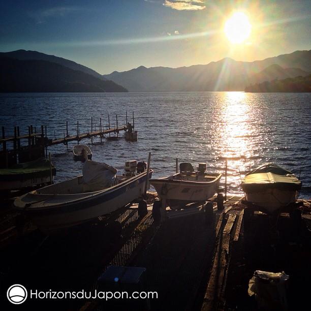 Fin de journée sur le lac Chuzenji