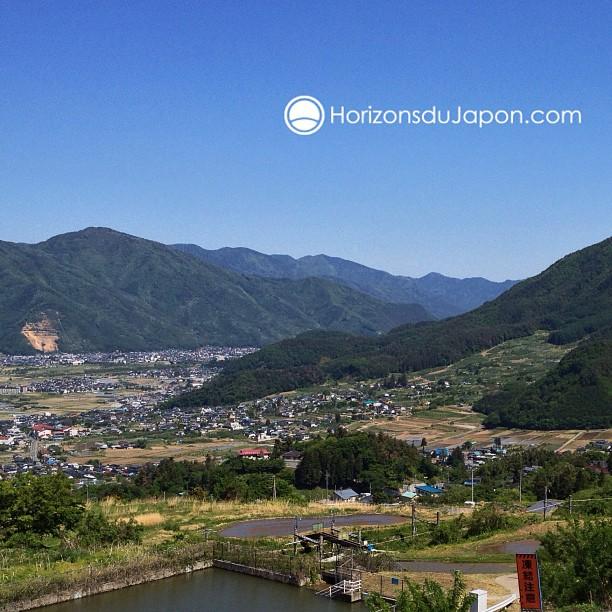 Petit arrêt dans la région de Obasute