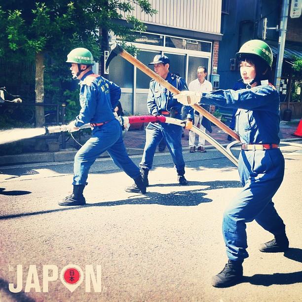 Les pompiers de Tokyo en action !