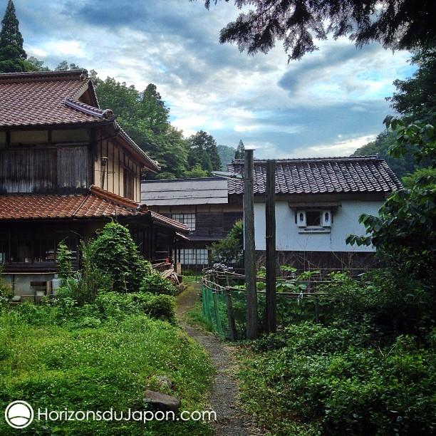 Au cœur du très reculé hameau montagnard de Itaibara